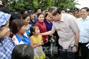 Chủ tịch nước kiểm tra công tác khắc phục hậu quả bão số 12 tại Đà Nẵng