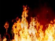Hỏa hoạn thiêu rụi kho hàng tại Cụm công nghiệp Cổ Lễ,Nam Định