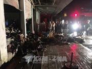 Cà Mau: Chập điện gây cháy chợ giữa đêm