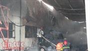 Hàng trăm công nhân tháo chạy vì xưởng may bất ngờ phát hoả