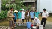 Ngành Y tế hỗ trợ các địa phương khắc phục hậu quả mưa bão