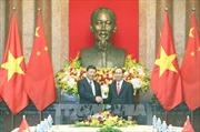 Hình ảnh Chủ tịch nước Trần Đại Quang hội kiến Tổng Bí thư, Chủ tịch Trung Quốc Tập Cận Bình