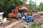 Bến Tre: Thêm 300 m đê bao cồn Phú Đa bị vỡ