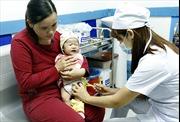 Sẽ hạ tuổi tiêm chủng các vắc xin sởi, ho gà cho trẻ