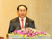 Chủ tịch nước Trần Đại Quang gửi lẵng hoa chúc mừng các nhà giáo lão thành