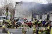 Nổ nhà máy sản xuất mỹ phẩm tại New York, 35 người bị thương