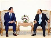 Thủ tướng Nguyễn Xuân Phúc tiếp Chủ tịch Tập đoàn SK Group, Hàn Quốc
