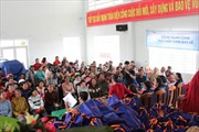 Masan Consumer tặng quà cho ngư dân Khánh Hoà bị ảnh hưởng bởi cơn bão số 12