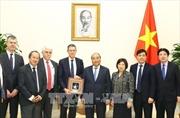 Thủ tướng Nguyễn Xuân Phúc tiếp Chủ tịch Tập đoàn VINCI (Pháp)