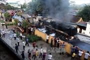 Tai nạn giao thông liên hoàn tại Phú Thọ, 4 ô tô bốc cháy