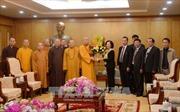 Trưởng ban Dân vận Trung ương tiếp đoàn đại biểu Giáo hội Phật giáo Việt Nam