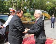 Điện mừng Quốc khánh nước Cộng hòa Dân chủ Nhân dân Lào