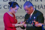 Trao tặng nhẫn cưới cho 29 đôi vợ chồng cựu chiến binh