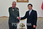 Phó Thủ tướng Phạm Bình Minh tiếp Chủ tịch Ủy ban Quân sự EU