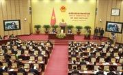 HĐND Hà Nội: 'Nóng' vấn đề trật tự xây dựng, lấn chiếm vỉa hè