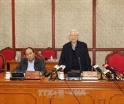 Bộ Chính trị cho ý kiến về kết quả của 5 Đoàn kiểm tra về công tác cán bộ