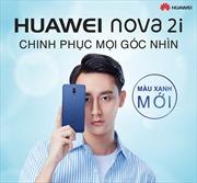 Huawei tung phiên bản Nova 2i màu xanh