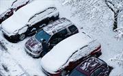 Tuyết đầu đông phủ kín châu Âu