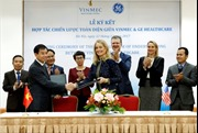 Vinmec ký thoả thuận hợp tác toàn diện với GE Healthcare