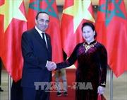 Chủ tịch Quốc hội Nguyễn Thị Kim Ngân hội đàm với Chủ tịch Hạ viện Maroc