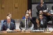 Phản ứng về việc Mỹ phủ quyết nghị quyết của Hội đồng Bảo an về Jerusalem