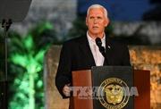 Phó Tổng thống Mỹ hoãn thăm Trung Đông vì căng thẳng Jerusalem