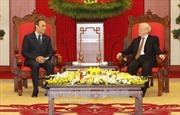 Tổng Bí thư Nguyễn Phú Trọng tiếp Chủ tịch Hạ viện Maroc Habib El Malki