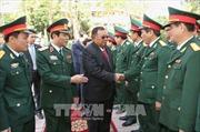 Tổng Bí thư, Chủ tịch nước Lào Bounnhang Vorachith thăm Quân khu 4