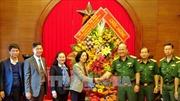 Trưởng Ban Dân vận Trung ương Trương Thị Mai thăm, chúc mừng các đơn vị quân đội tại TP Hồ Chí Minh