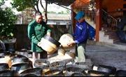 Người thương binh làm giàu từ nghề làm cói truyền thống