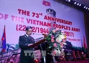 Kỷ niệm trọng thể 73 năm Ngày thành lập quân đội nhân dân Việt Nam tại Lào