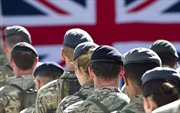 Binh sĩ Anh tại Afghanistan được thưởng 1 bảng mừng Giáng sinh
