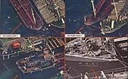 Vệ tinh Mỹ phát hiện tàu Trung Quốc chuyển dầu cho tàu Triều Tiên