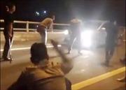 Triệu tập các đối tượng chặn xe xin tiền trên cao tốc Nội Bài - Lào Cai