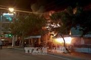 Thành phố Hồ Chí Minh: Cháy lớn thiêu rụi 2 căn nhà