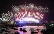 Thế giới tưng bừng đón Năm mới 2018