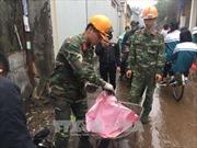 Chốt trực kiểm soát xe vận chuyển, mua bán phế liệu sau vụ nổ ở Bắc Ninh