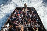 Chìm thuyền trên biển Địa Trung Hải, 100 người mất tích