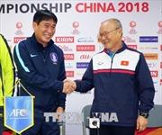 VCK U23 châu Á 2018: HLV U23 Việt Nam đánh giá rất cao U23 Hàn Quốc