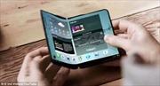 Hé lộ thiết kế độc đáo của Galaxy X - điện thoại gập đôi như sách