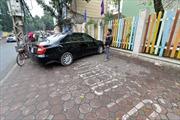Đỗ ô tô trong khuôn viên chung cư bị phạt?