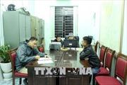 Tạm giữ phương tiện đổ trộm 10 tấn rác thải tại Quảng Ninh