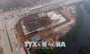 Hà Nội: Sập giàn giáo công trường tại phố Tố Hữu, 6 người thương vong