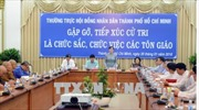 HĐND TP Hồ Chí Minh tiếp xúc cử tri là chức sắc, chức việc các tôn giáo