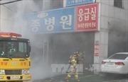 Vụ cháy bệnh viện tại Hàn Quốc có thể do chập điện