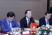 Chủ tịch Quốc hội Lào đánh giá cao tiến độ dự án nhà Quốc hội mới