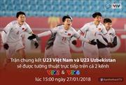 Xem trực tiếp trận chung kết U23 Việt Nam- U23 Uzbekistan ở đâu?