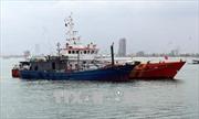 Cứu hộ tàu cá cùng 9 thuyền viên gặp nạn trên vùng biển Côn Đảo