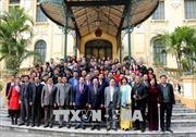 Phó Thủ tướng, Bộ trưởng Ngoại giao Phạm Bình Minh gặp mặt báo chí dịp năm mới