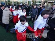 Olympic PyeongChang 2018: Các vận động viên Triều Tiên tới Hàn Quốc